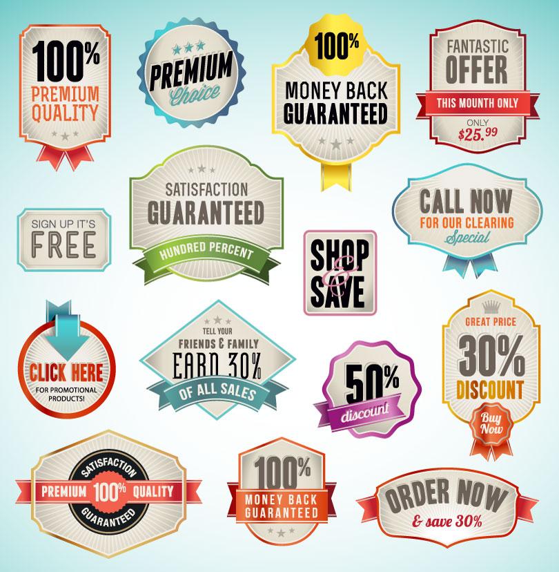 Premium Quality Sale Label