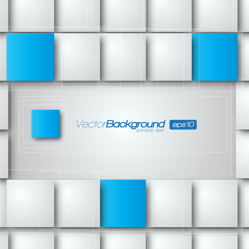 Realistic 3D Vector Background 3