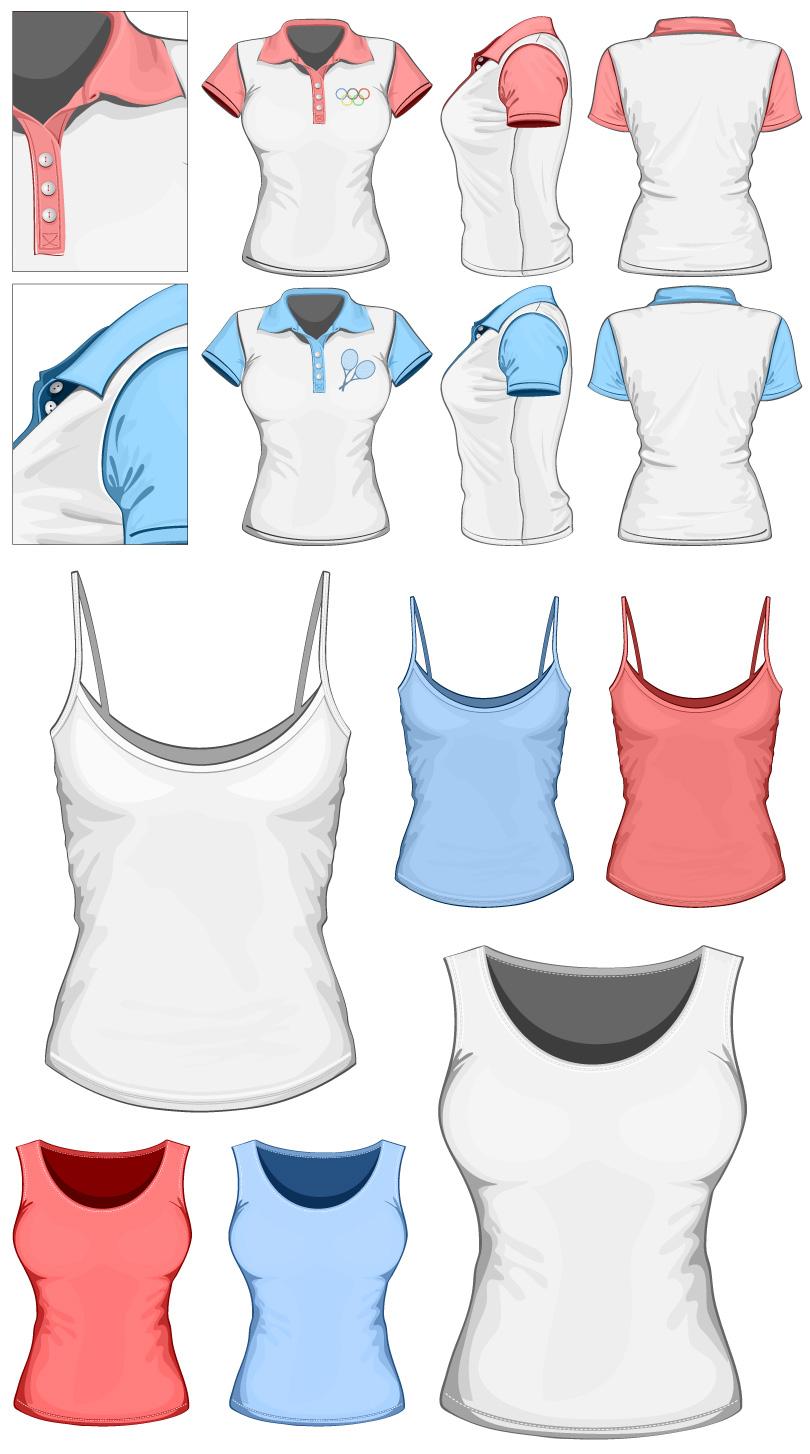 Sport Short-sleeved Vest