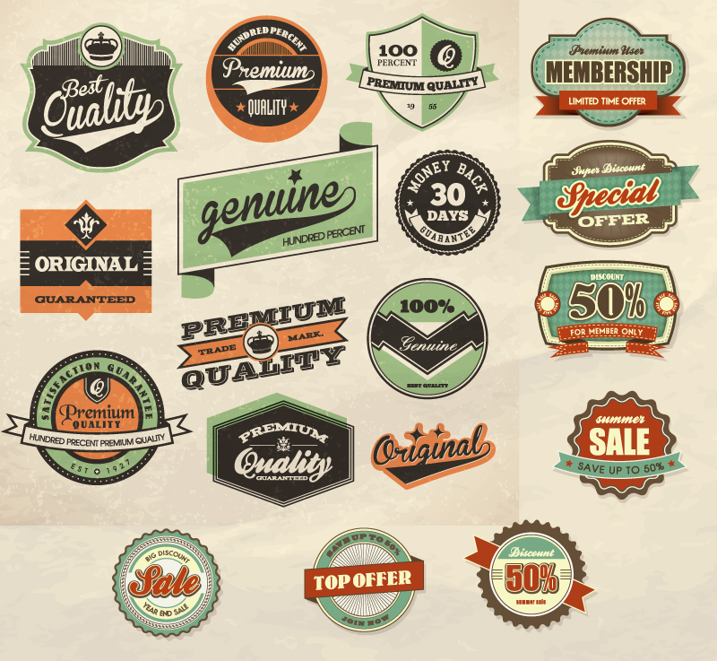Vintage Label Vector Free Download | www.pixshark.com ...