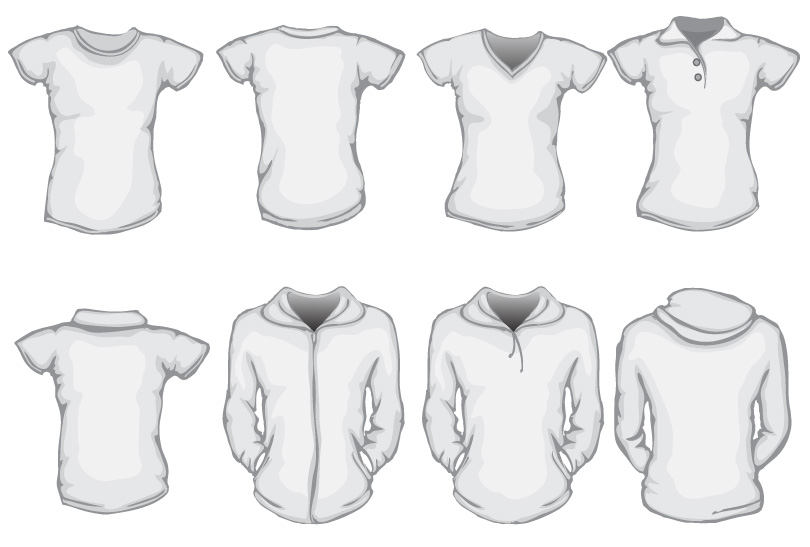 White Sweatshirt Design
