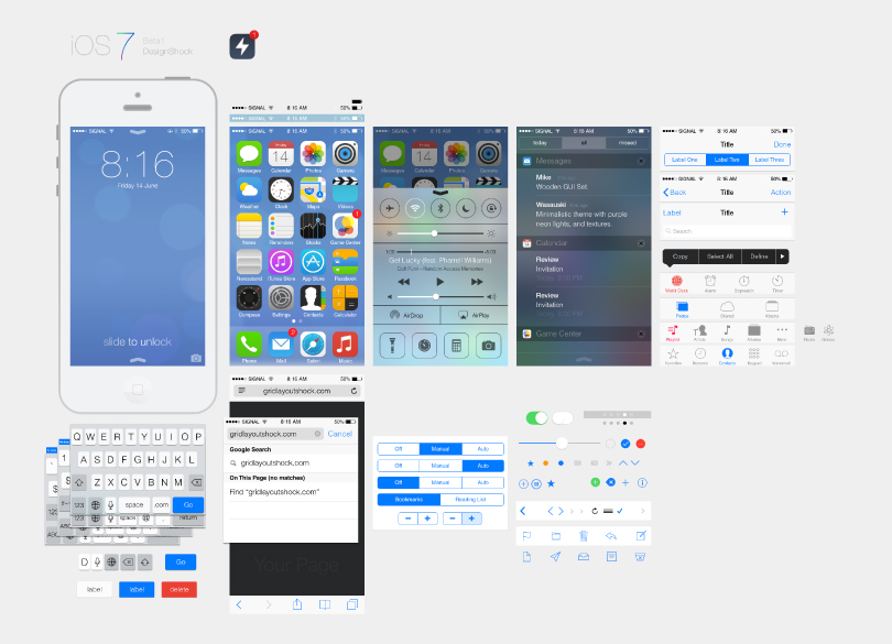 iOS 7 UI Design