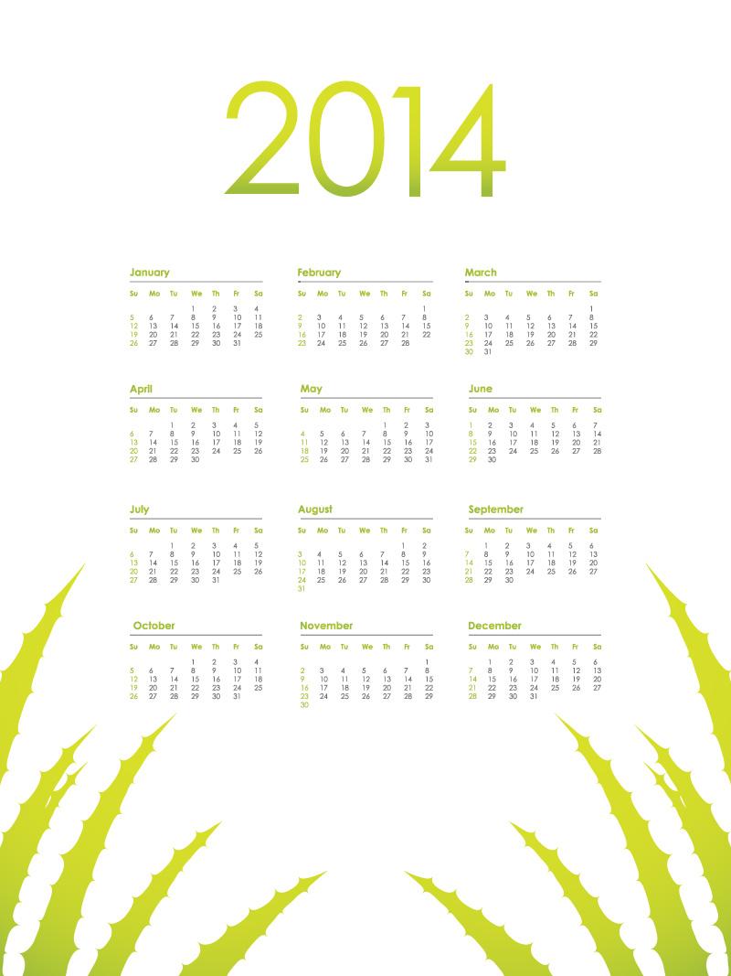 Calendar 2014 64