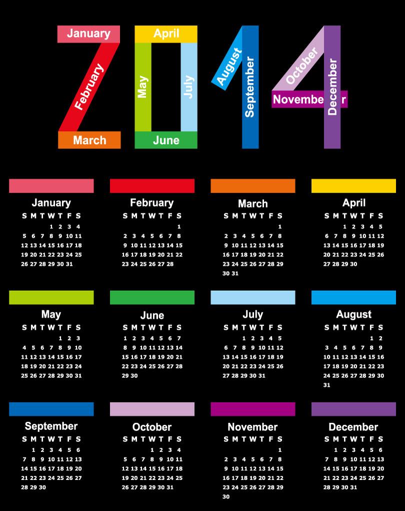 Calendar 2014 42