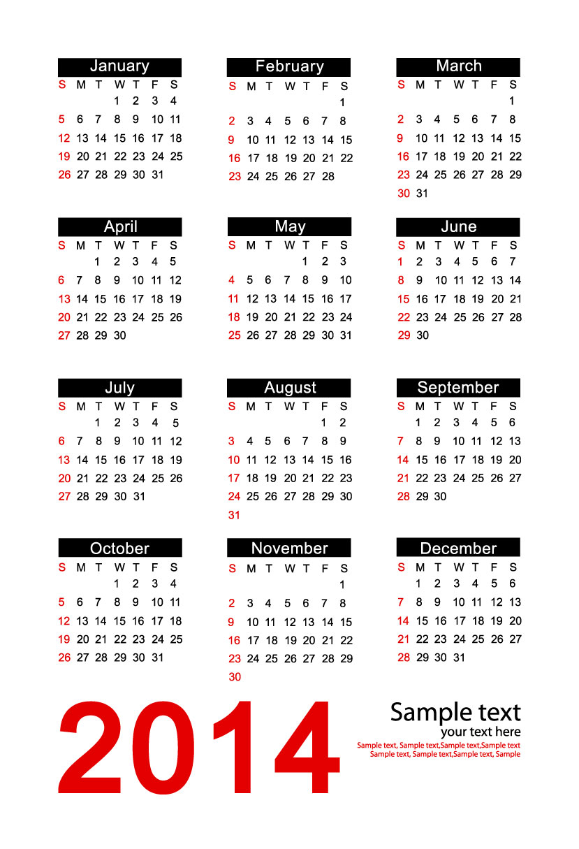 Calendar 2014 43