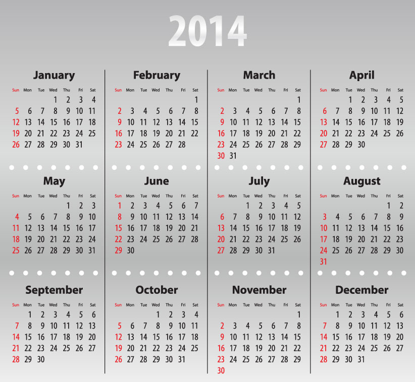 Calendar 2014 44