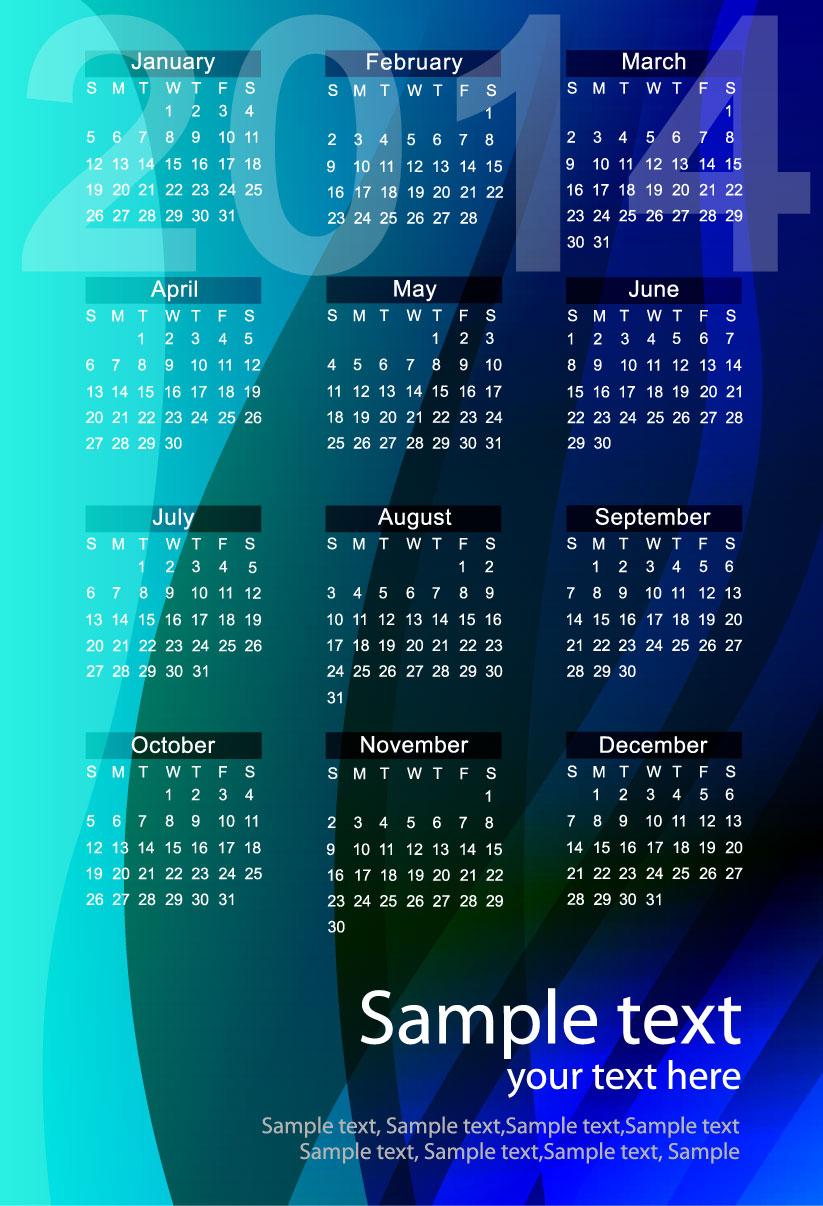 Calendar 2014 45