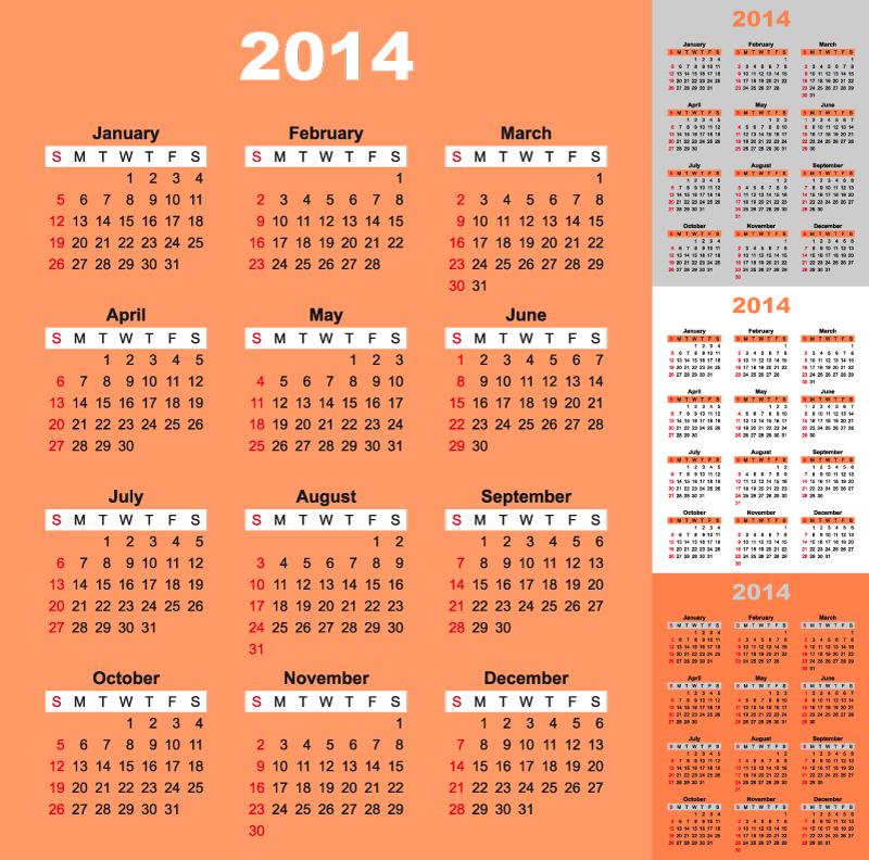 Calendar 2014 51