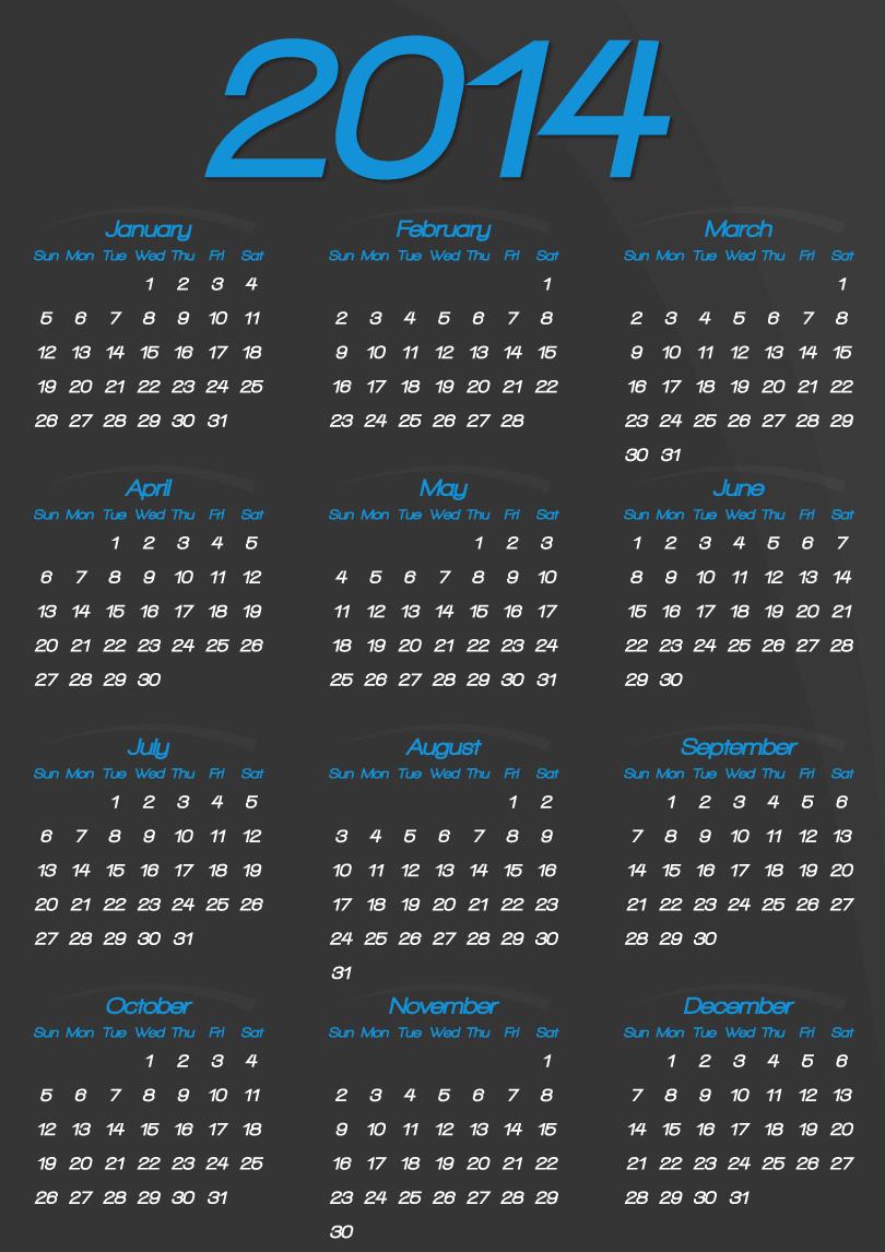 Calendar 2014 55