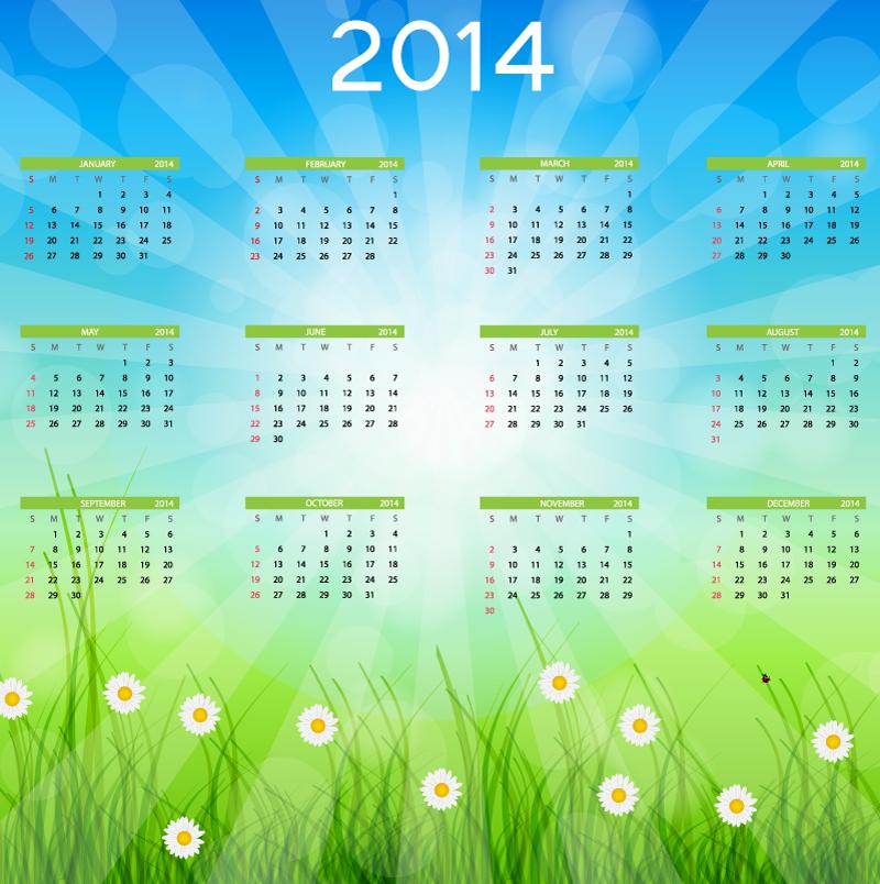 Calendar 2014 56