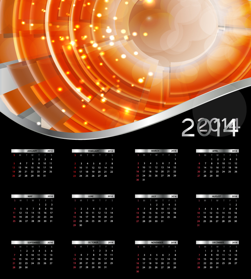 66 beautiful free calendar psd designs | instantshift.