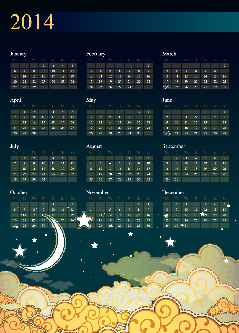 Calendar 2014 65