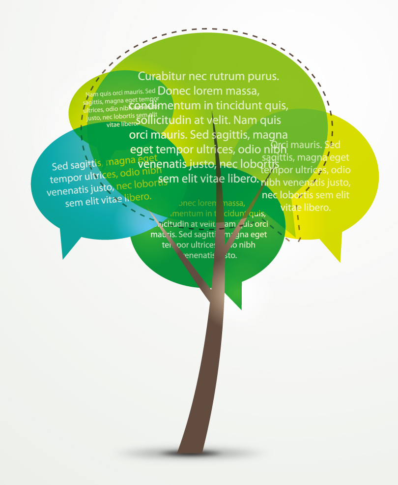 Color Dialog Tree Vector