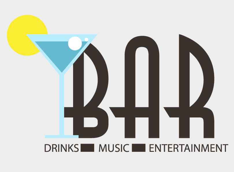 Drinks Bar Vector