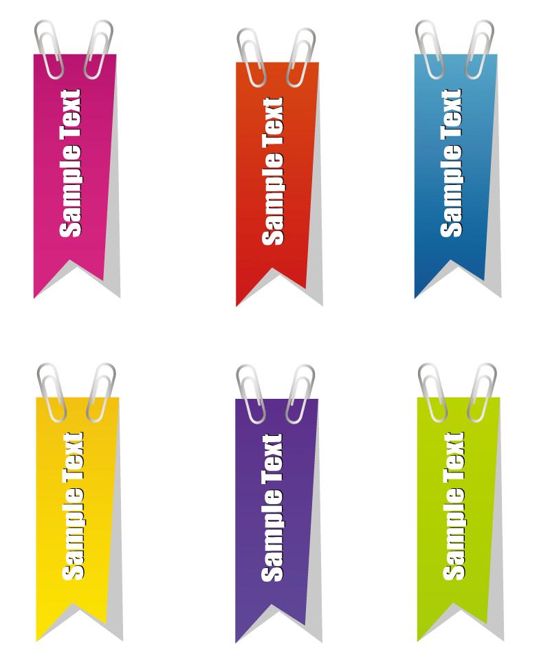 Hanging Flag Label Design