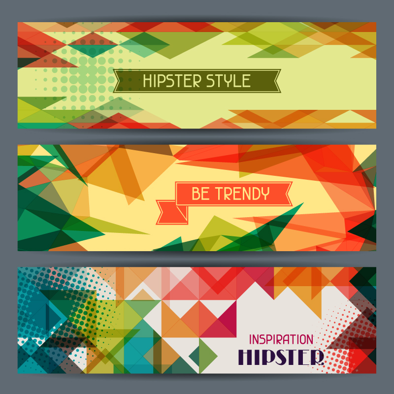 Hipster Sytle Trendy Vector