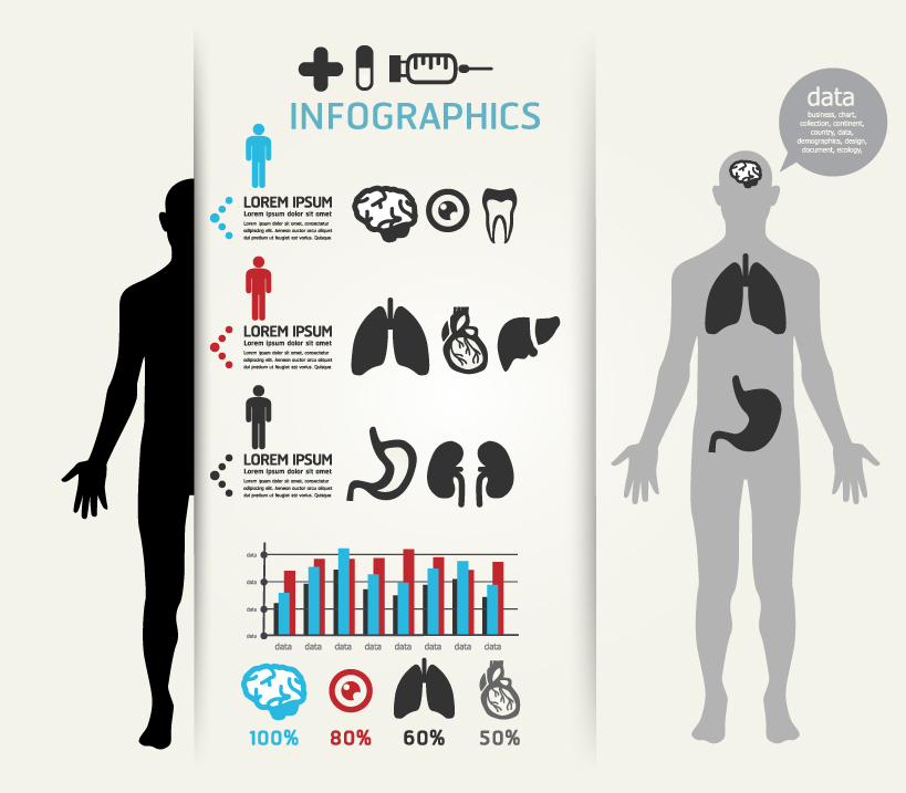 Infographics Body Data