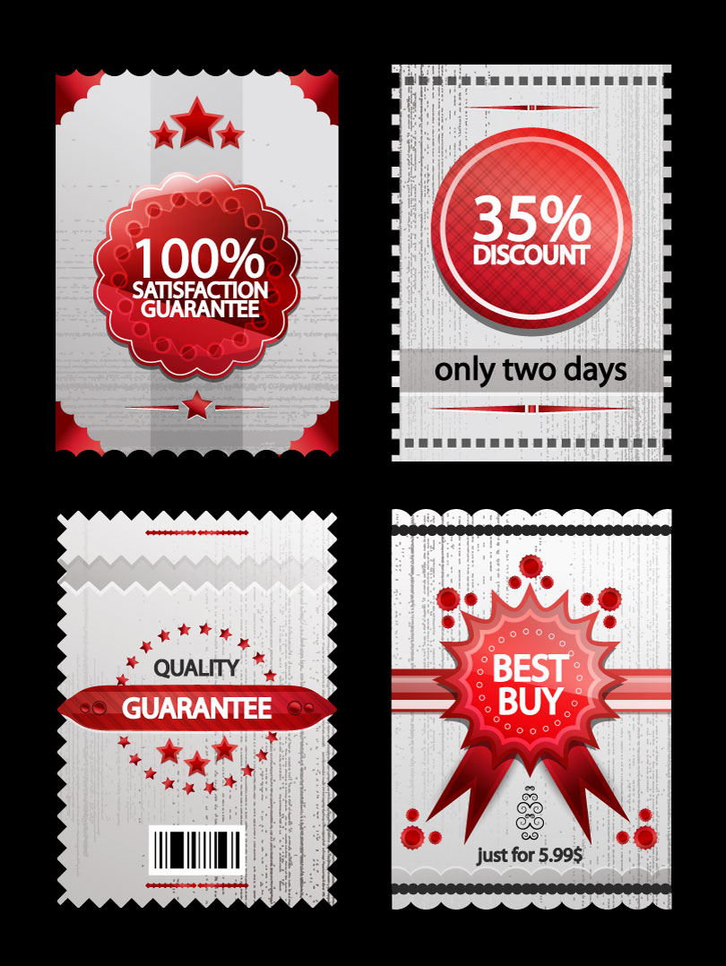 Satisfaction Guarantee Discount Vector