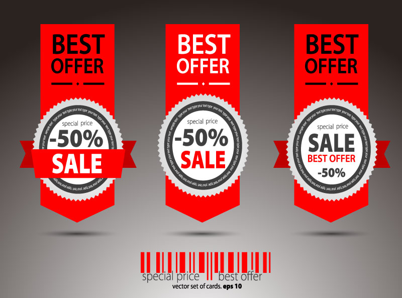 Special Price Sale Vector