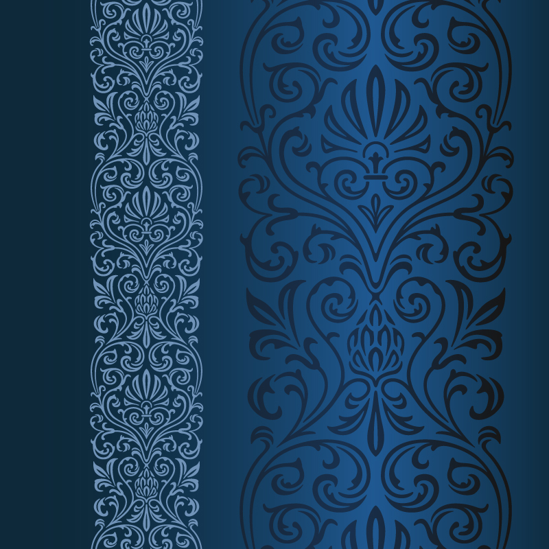 Blue Pattern Vector Free Vector Graphic Download