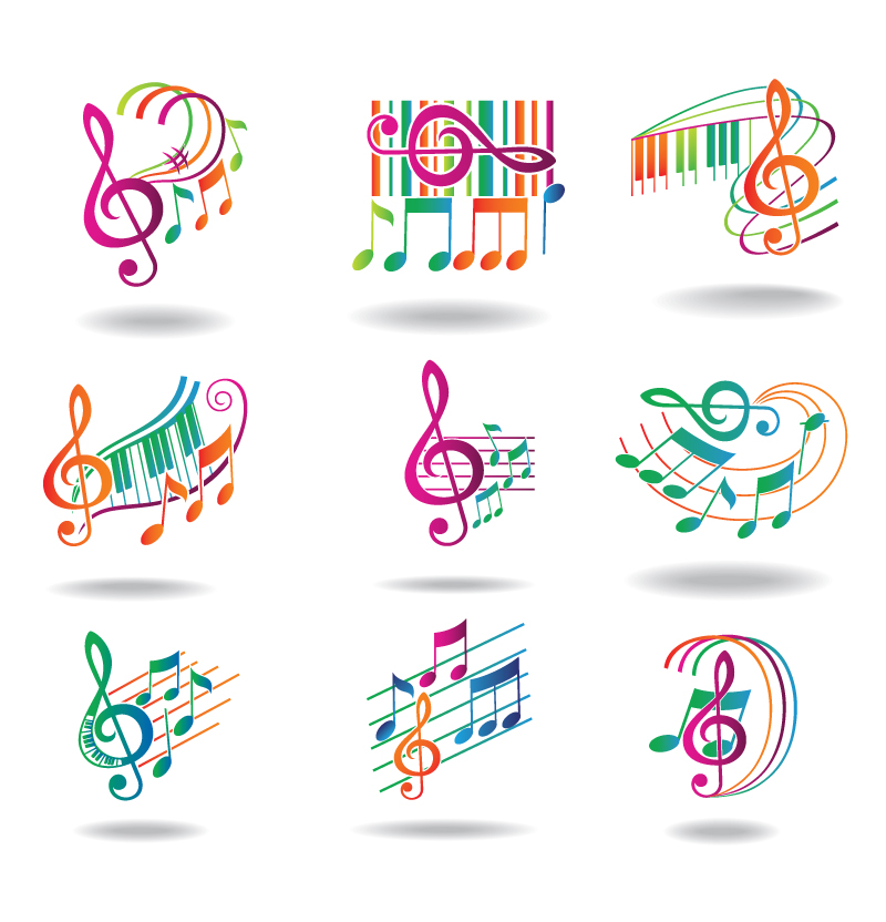 Dynamic Note Icon Vector