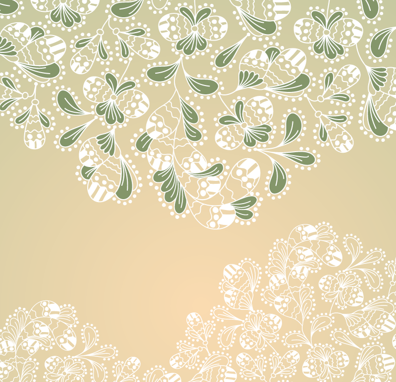 Elegant Floral Background Vector