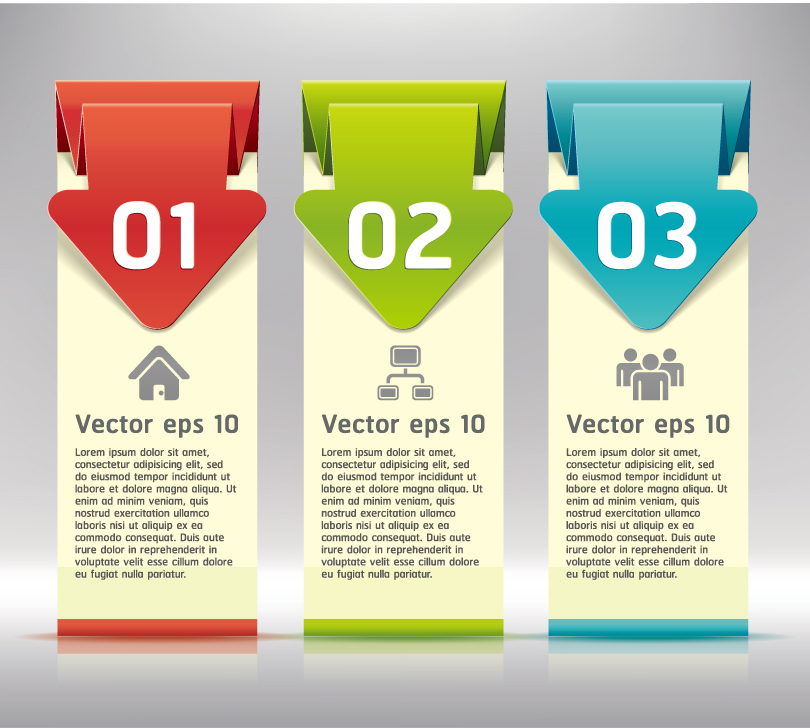 Label Banner Design Vector