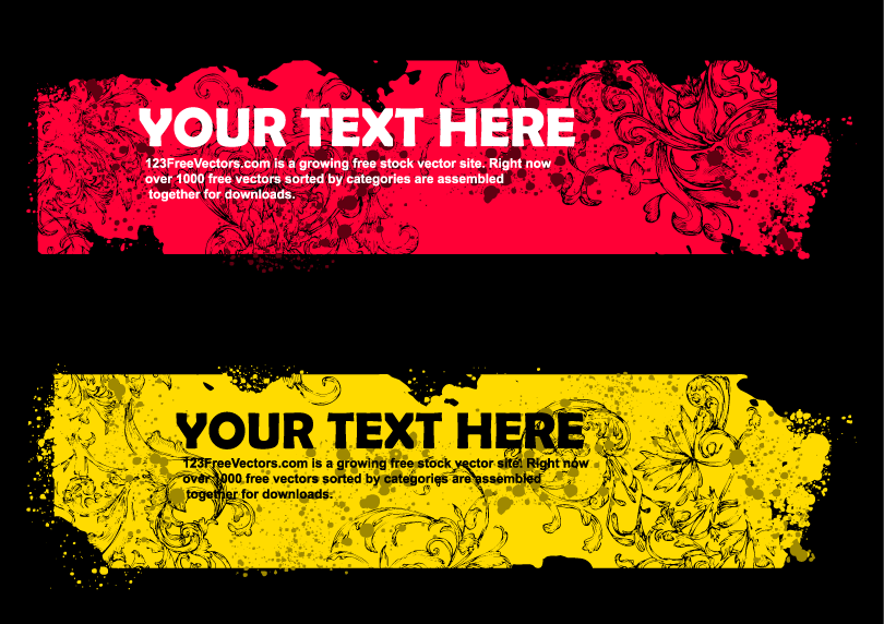 Trend Pattern Text Vector