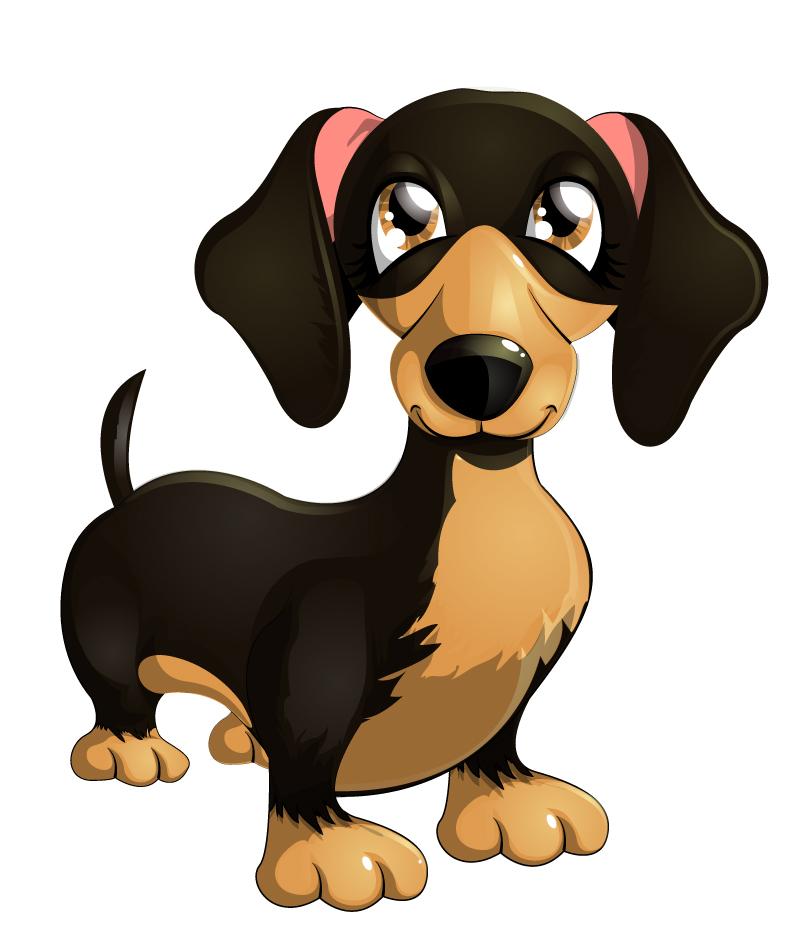 Cartoon Labrador Vector