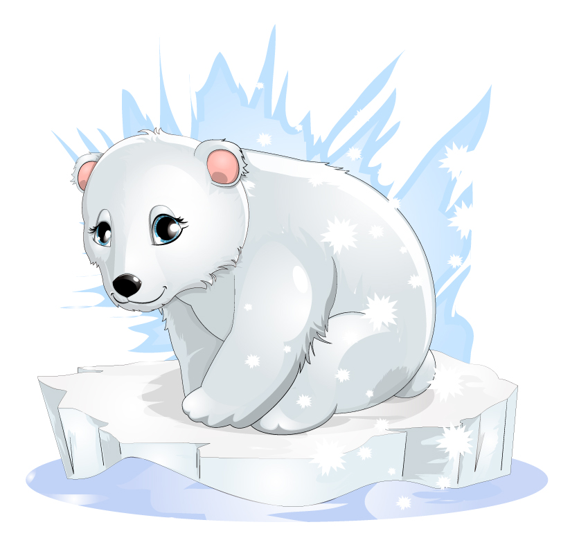 Cute polar bear drawings - photo#25