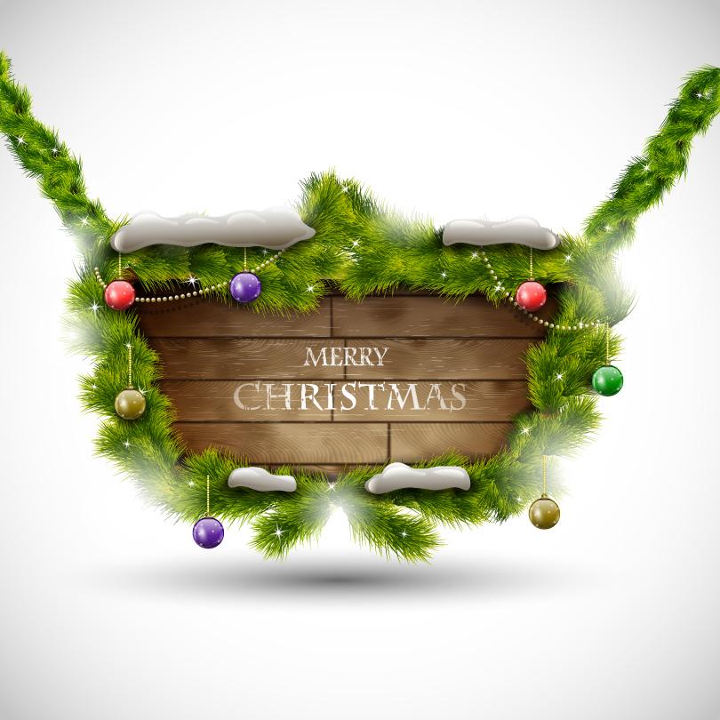 Christmas Listing Vector