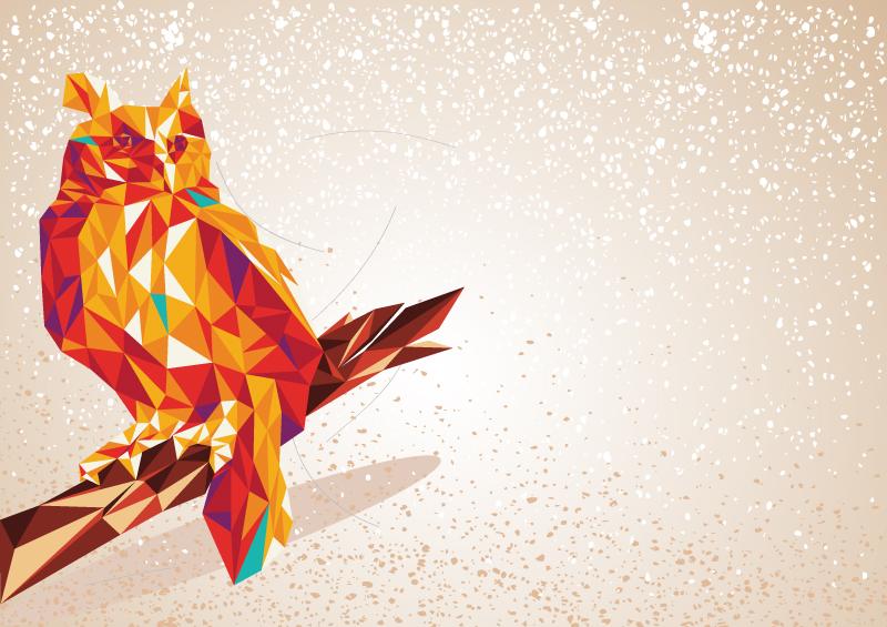 Color Owl Vector | Free Vector Graphic Download
