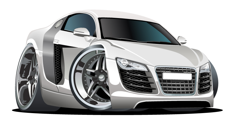 Cool Sports Car Vector