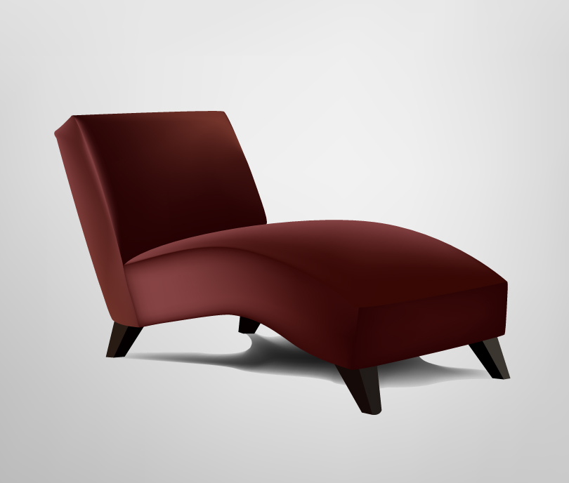 Furniture Fashion Sofa Vector