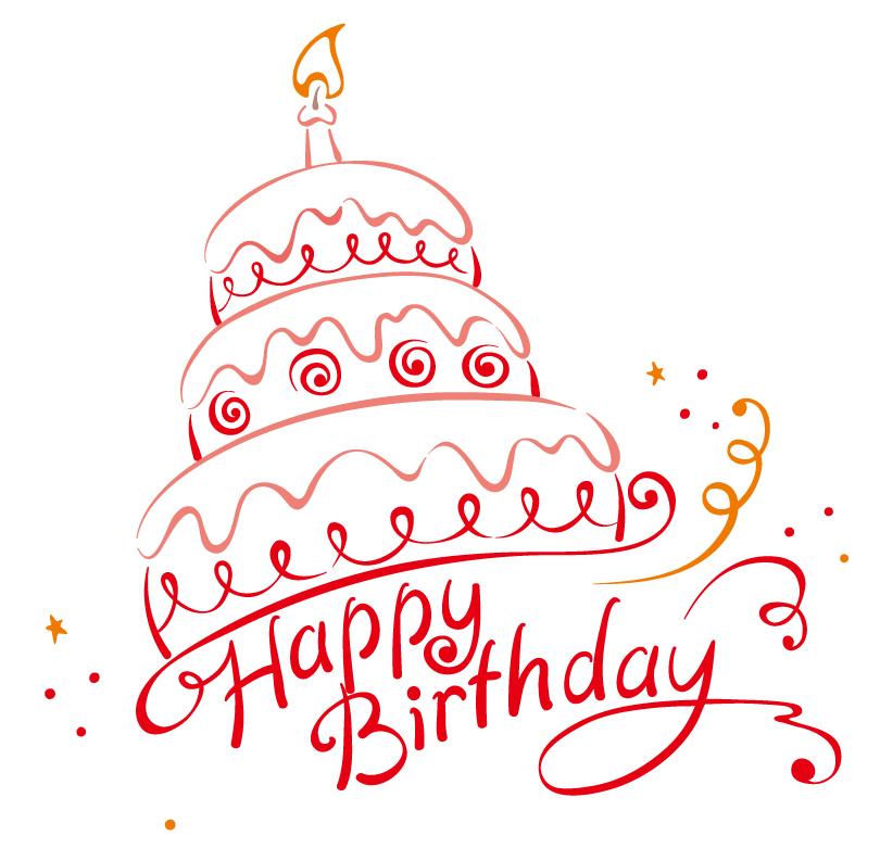 Happy Birthday Cake Vector Free Vector Graphic Download