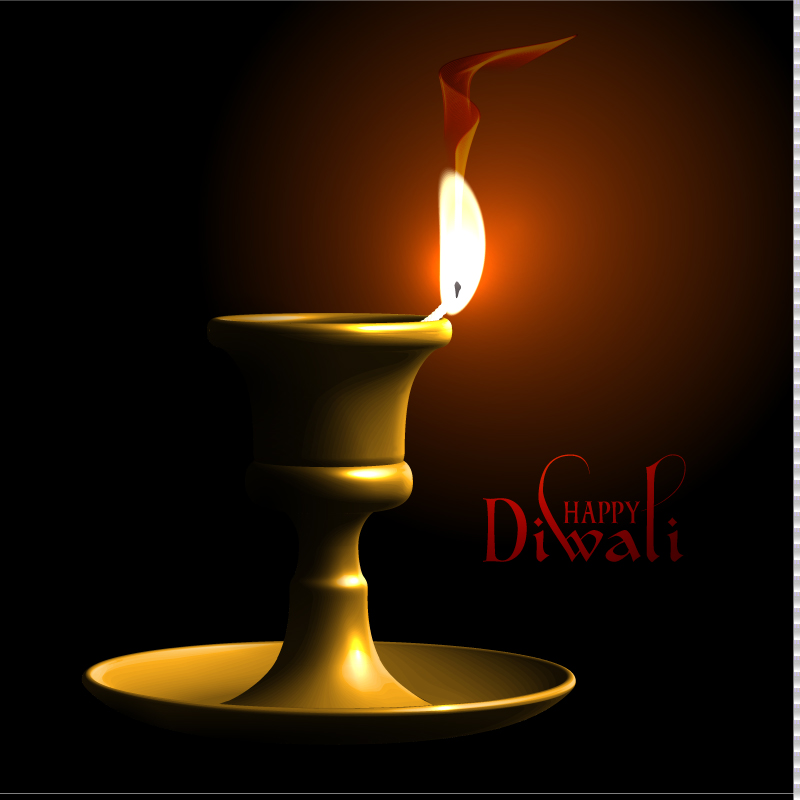 Happy Diwali Festival Vector