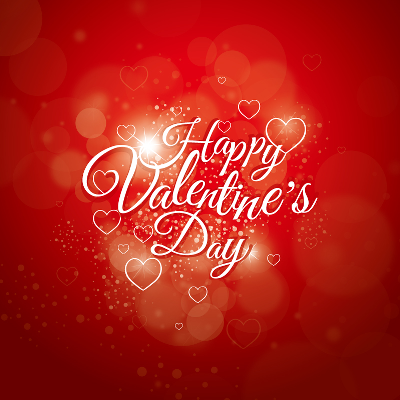 Happy Valentine's Day Everyone Vector