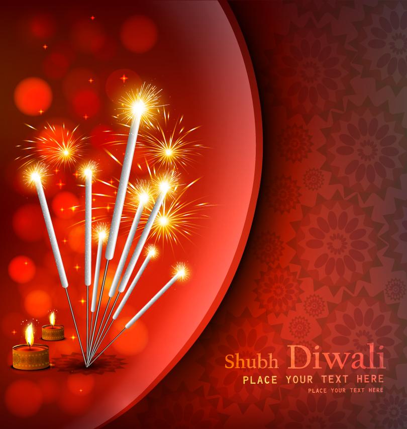 Shubh Diwali Vector