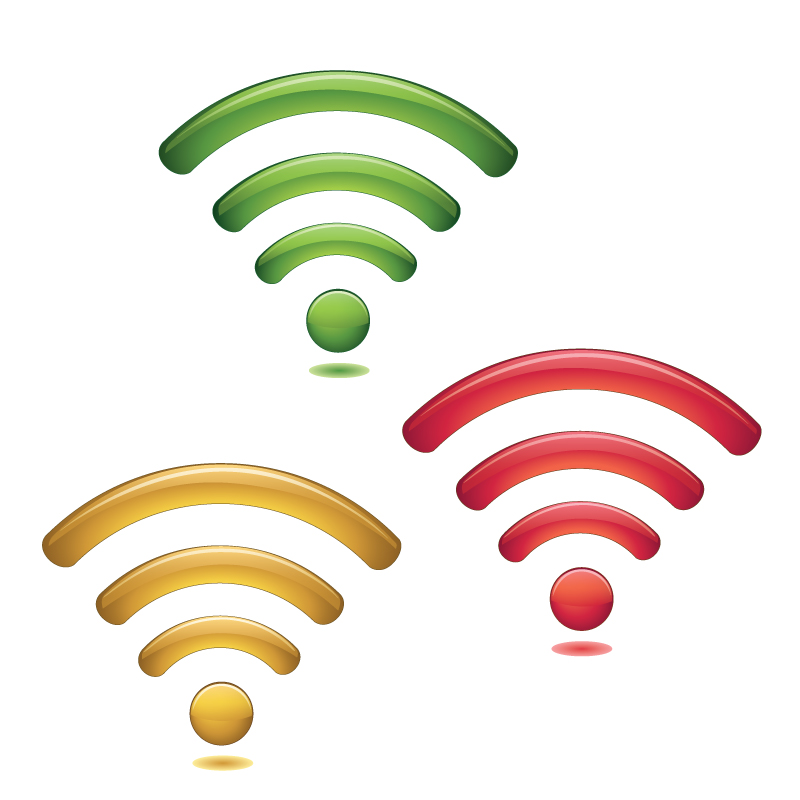 wifi logo vector free vector graphic download