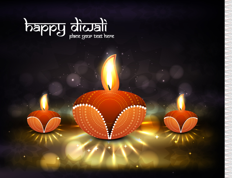 Diwali Festival of Light Vector