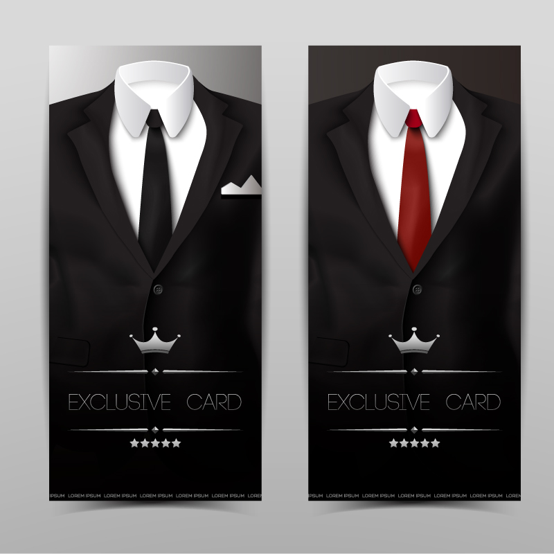 Exclusive Card Suits Vector