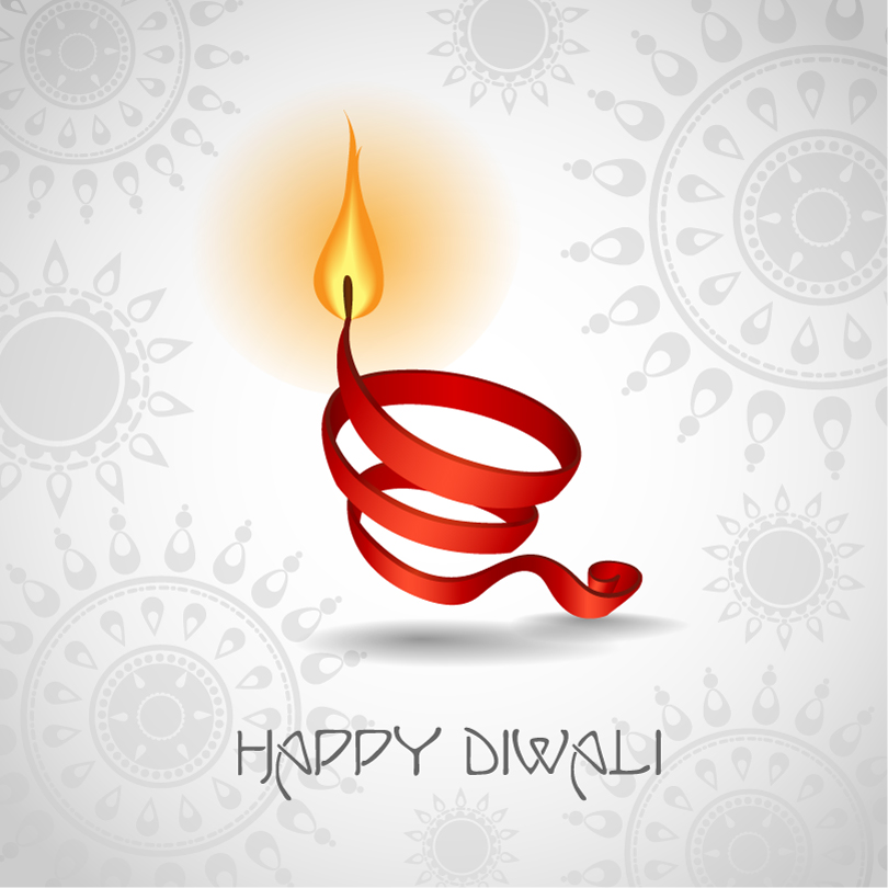 Happy Diwali Pattern Background Vector