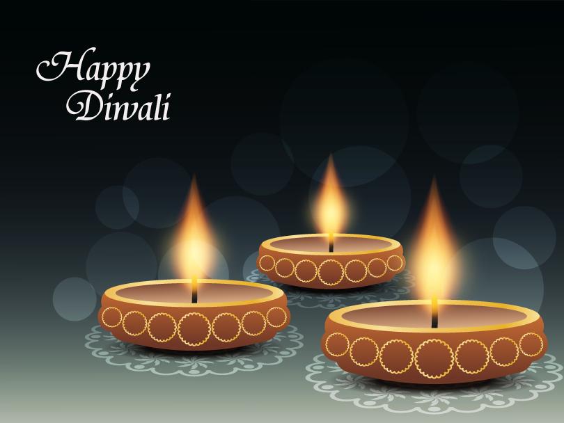 Maha Lakshimi Diwali Vector