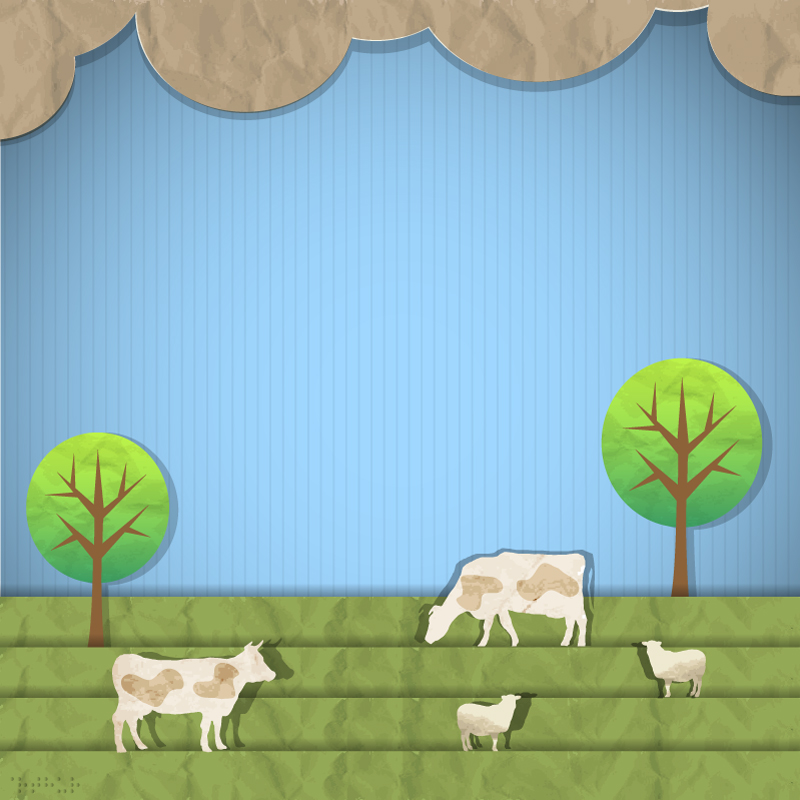 Ranch Tree Clipart Vector