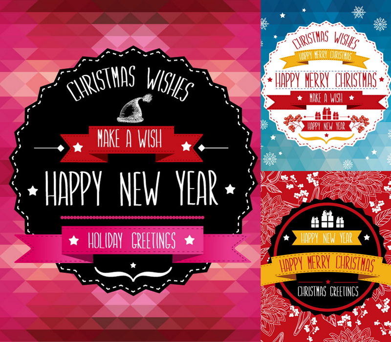 Fantasy Creative Christmas Poster Vector