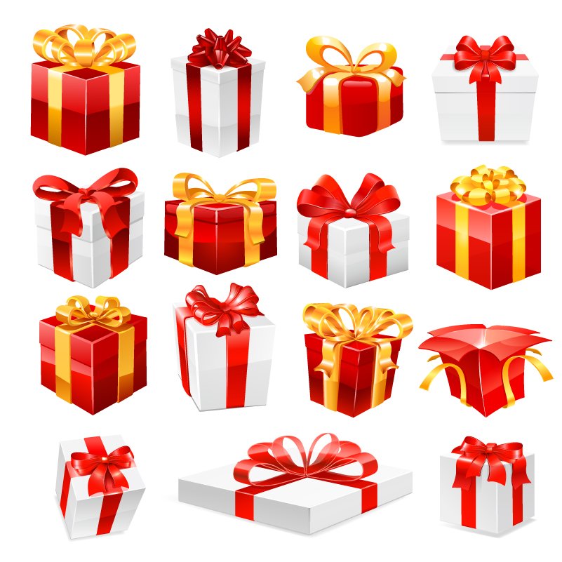Happy birthday a variety of gift boxes vector free vector happy birthday a variety of gift boxes vector negle Image collections