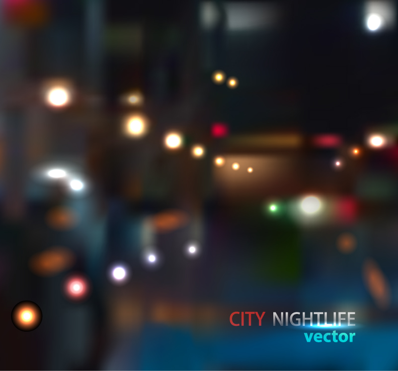 City Nightlife Vector