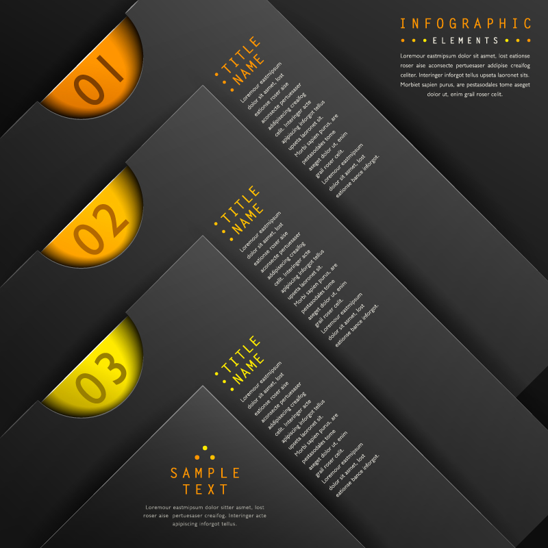 Infographic Ruler Shape Vector