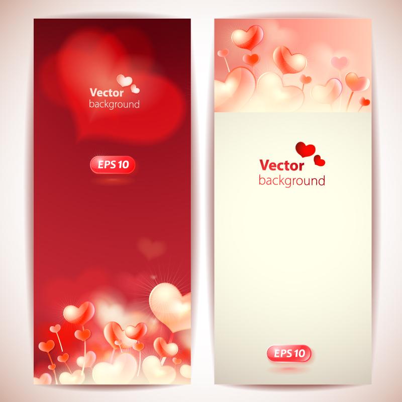 Valentine's Day 2014 Bannar Vector