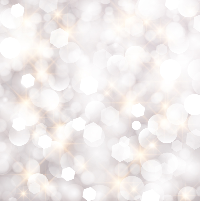 White Fantasy Glow Background Vector